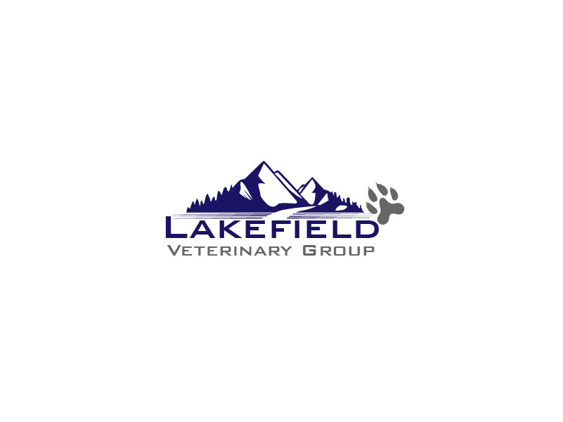 Logo Design by Private User - Entry No. 11 in the Logo Design Contest Inspiring Logo Design for Lakefield Veterinary Group.