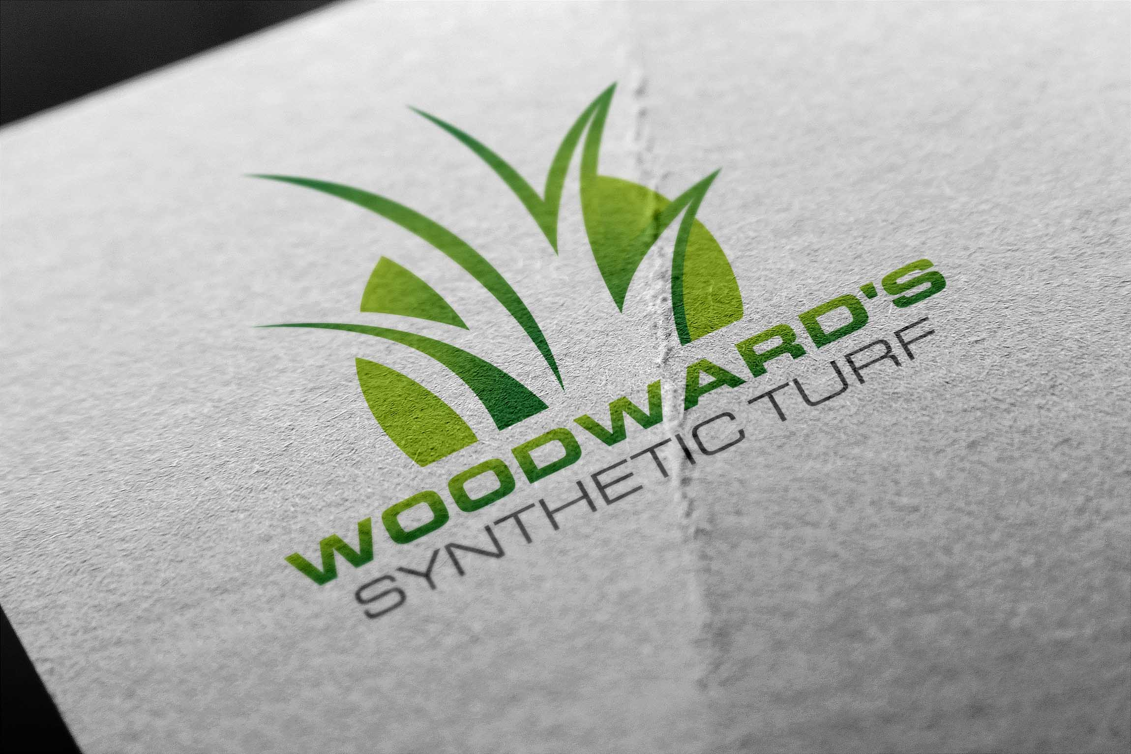 Logo Design by Private User - Entry No. 25 in the Logo Design Contest Artistic Logo Design for Woodward's Synthetic Turf.