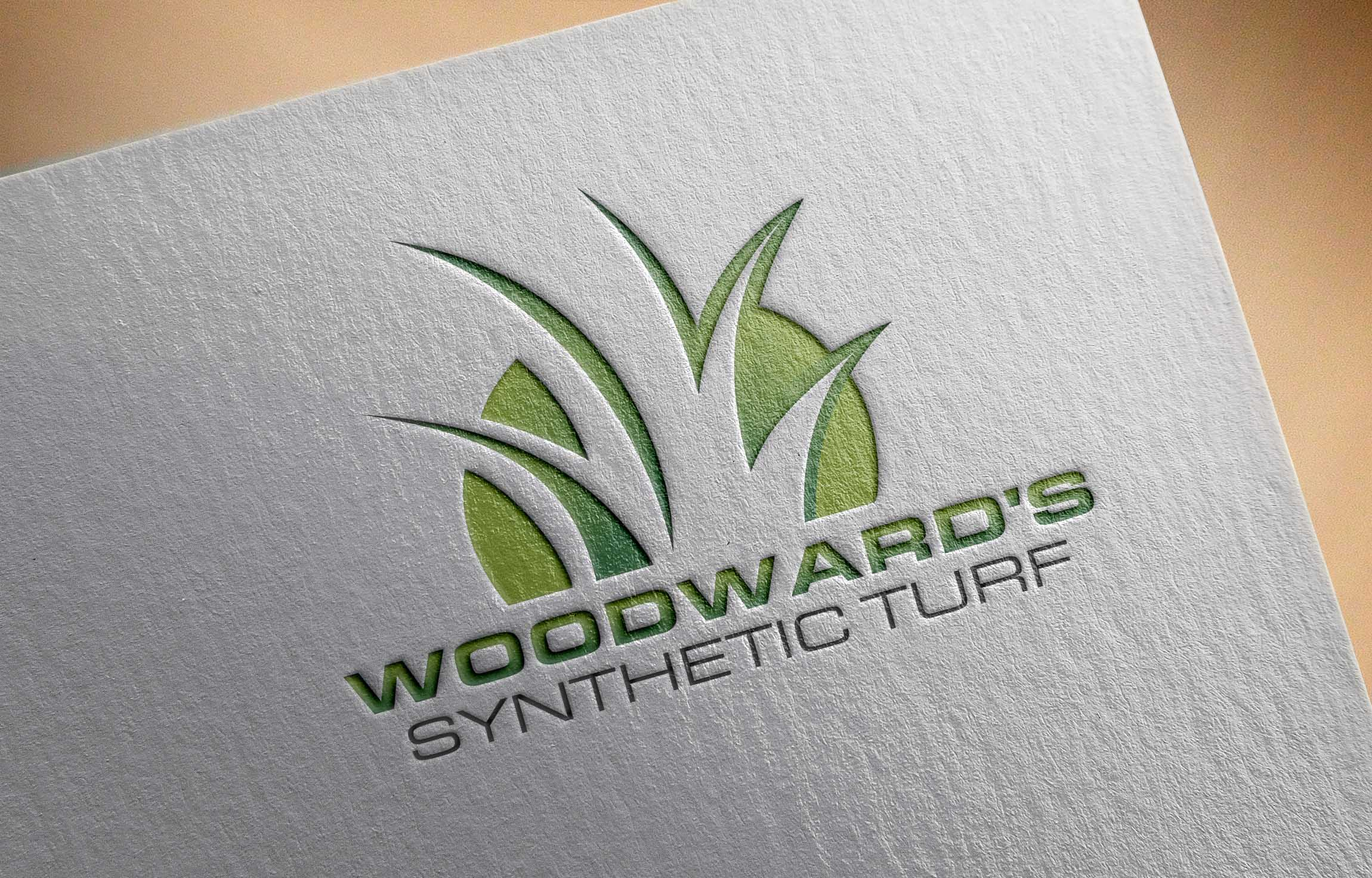 Logo Design by Private User - Entry No. 26 in the Logo Design Contest Artistic Logo Design for Woodward's Synthetic Turf.
