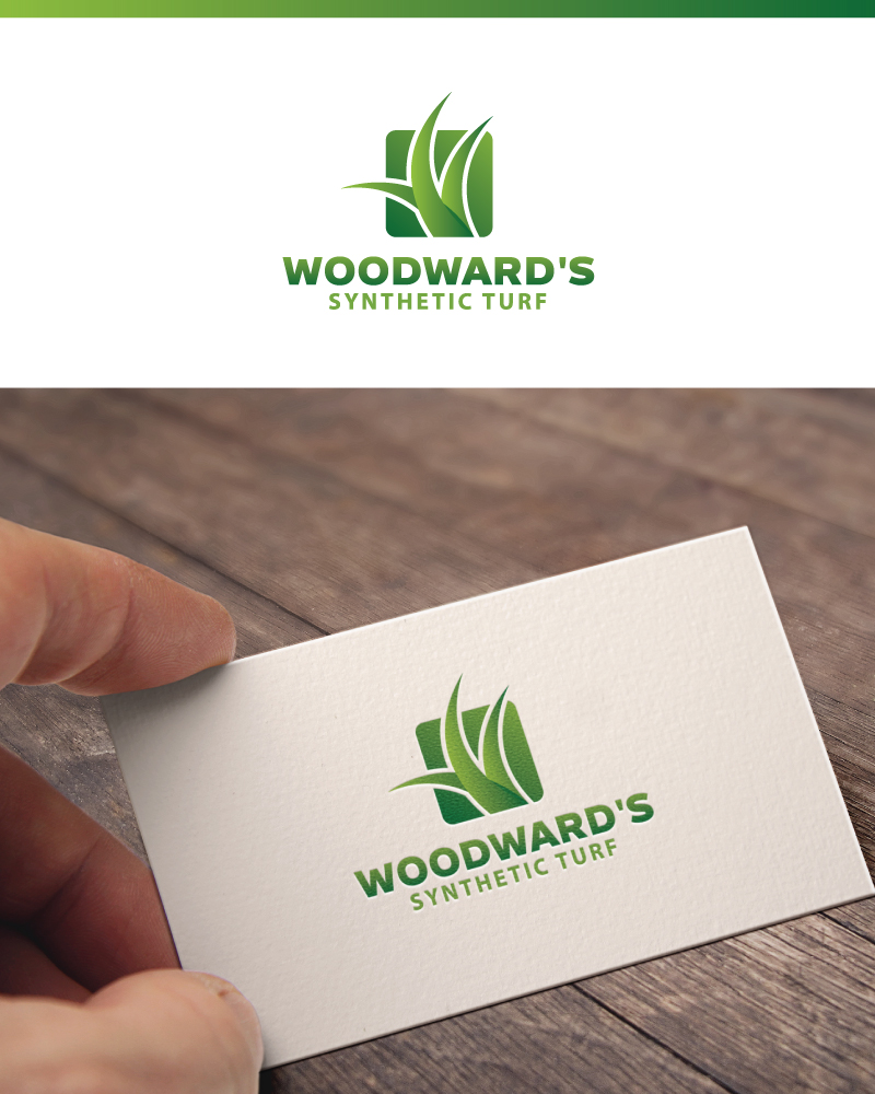 Logo Design by Tauhid Shaikh - Entry No. 28 in the Logo Design Contest Artistic Logo Design for Woodward's Synthetic Turf.