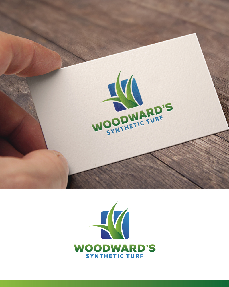 Logo Design by Tauhid Shaikh - Entry No. 29 in the Logo Design Contest Artistic Logo Design for Woodward's Synthetic Turf.