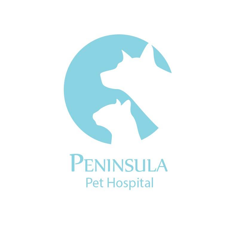 Logo Design by Muazzama Memon - Entry No. 28 in the Logo Design Contest Creative Logo Design for Peninsula Pet Hospital.