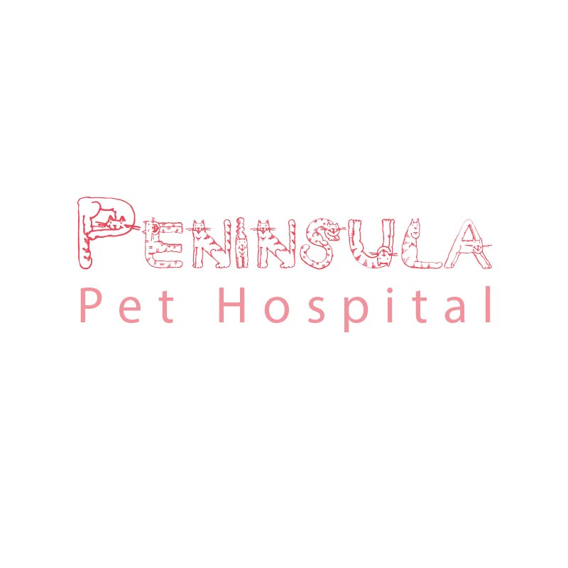 Logo Design by Muazzama Memon - Entry No. 33 in the Logo Design Contest Creative Logo Design for Peninsula Pet Hospital.