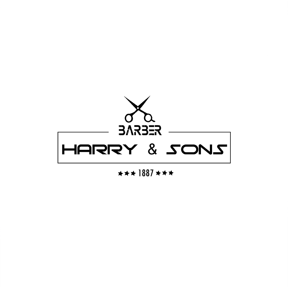Logo Design by ALBAN KRASNIQI - Entry No. 239 in the Logo Design Contest Captivating Logo Design for Harry and Sons Barber.