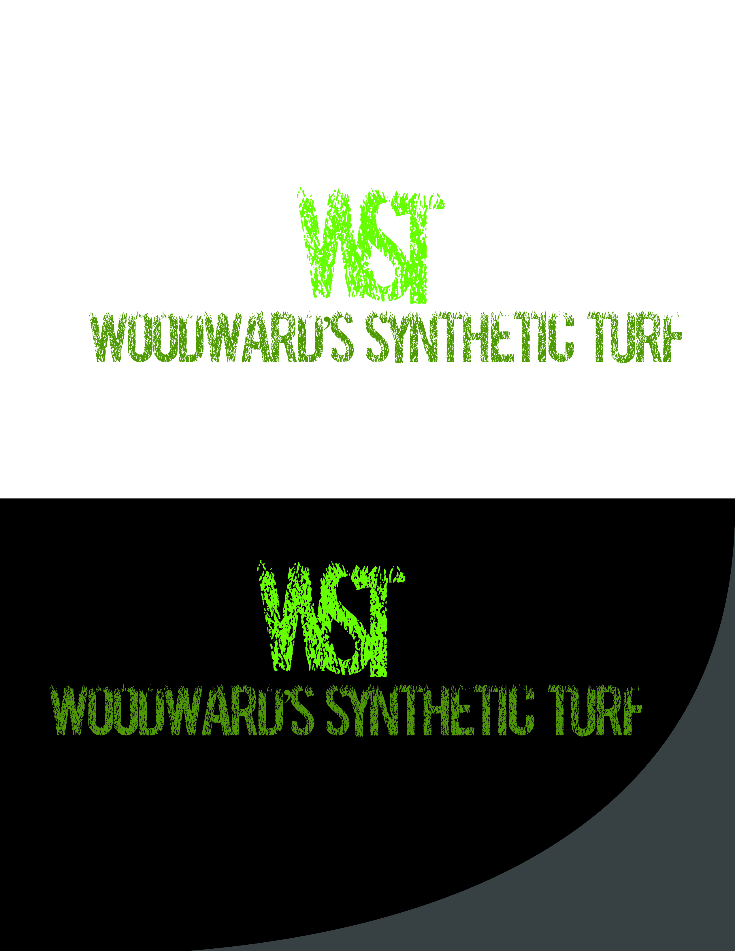Logo Design by AQIB SHAIKH - Entry No. 31 in the Logo Design Contest Artistic Logo Design for Woodward's Synthetic Turf.
