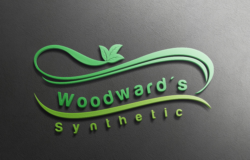 Logo Design by Private User - Entry No. 34 in the Logo Design Contest Artistic Logo Design for Woodward's Synthetic Turf.