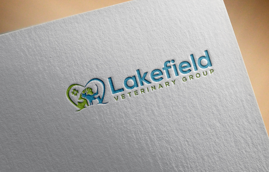 Logo Design by Private User - Entry No. 14 in the Logo Design Contest Inspiring Logo Design for Lakefield Veterinary Group.