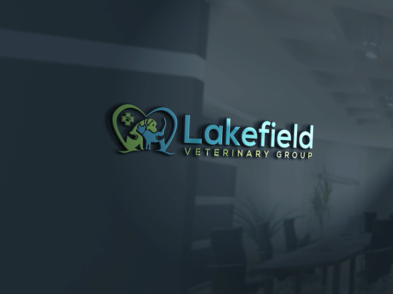 Logo Design by Private User - Entry No. 16 in the Logo Design Contest Inspiring Logo Design for Lakefield Veterinary Group.