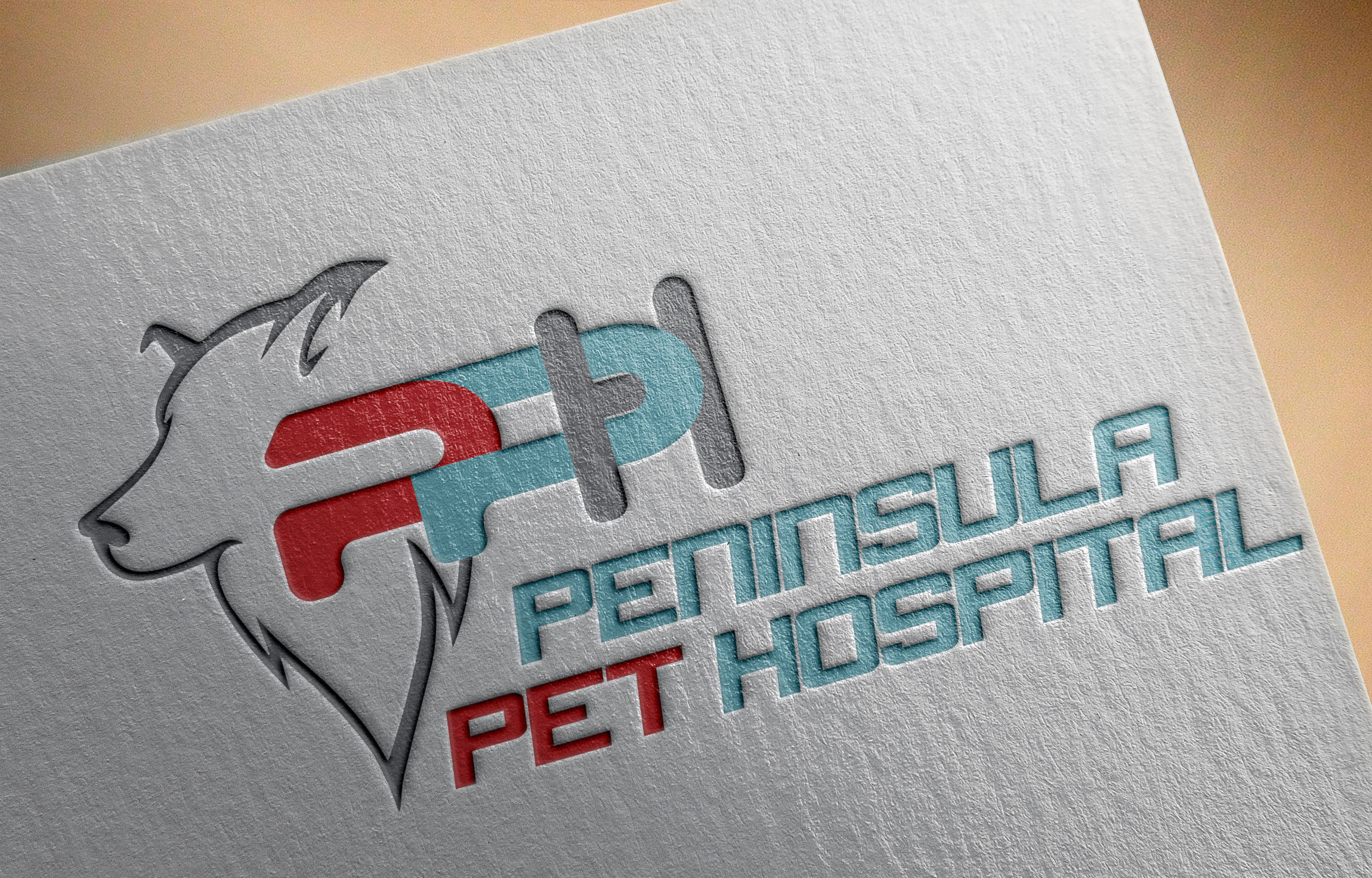 Logo Design by Umair ahmed Iqbal - Entry No. 46 in the Logo Design Contest Creative Logo Design for Peninsula Pet Hospital.