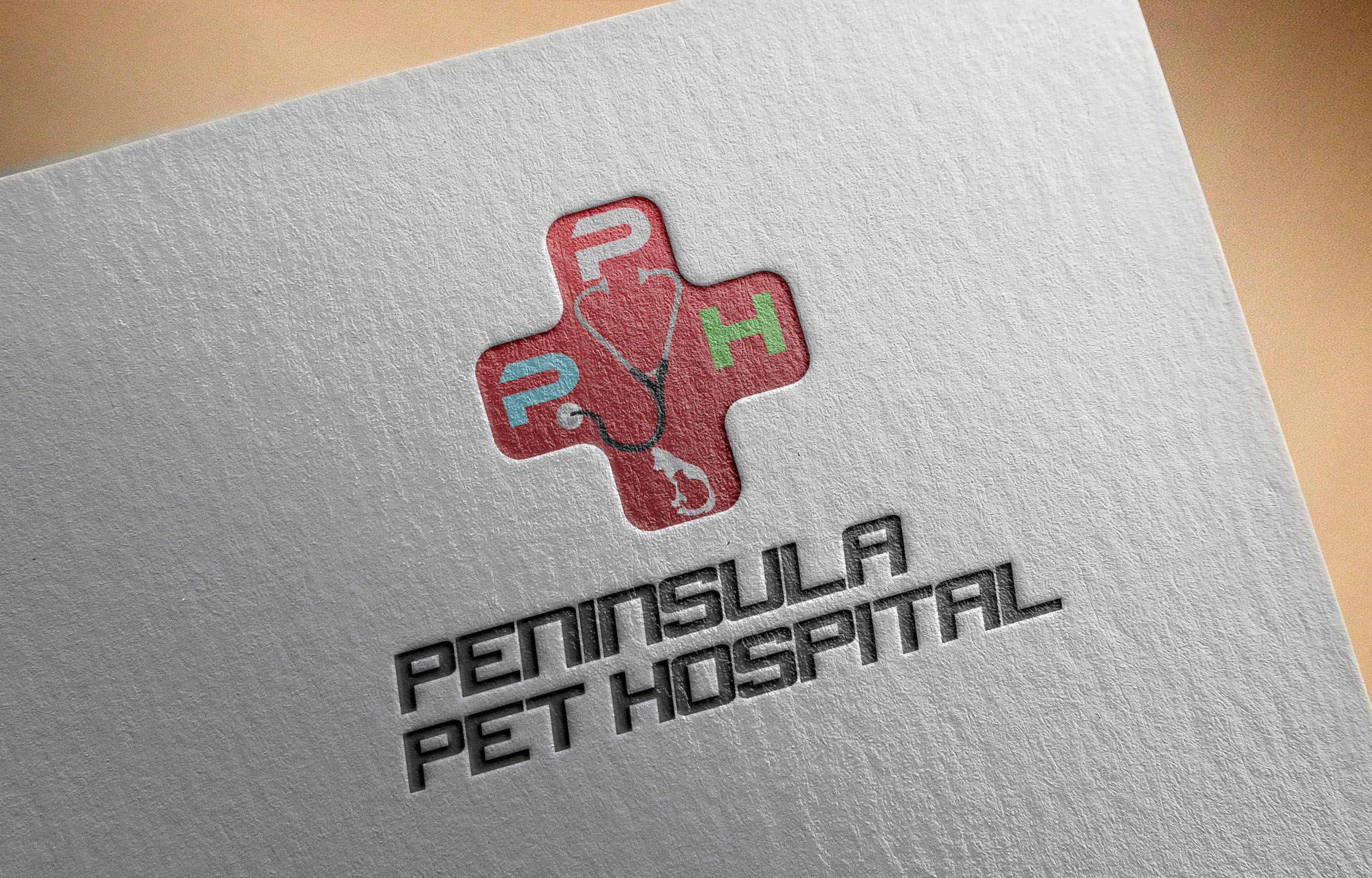 Logo Design by Umair ahmed Iqbal - Entry No. 47 in the Logo Design Contest Creative Logo Design for Peninsula Pet Hospital.