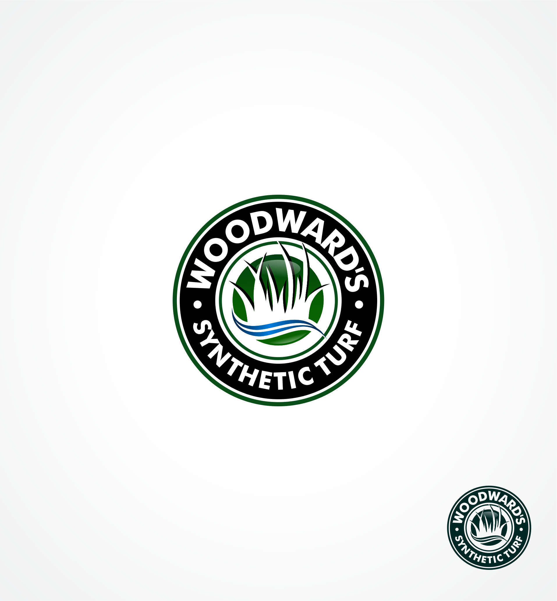 Logo Design by Raymond Garcia - Entry No. 38 in the Logo Design Contest Artistic Logo Design for Woodward's Synthetic Turf.