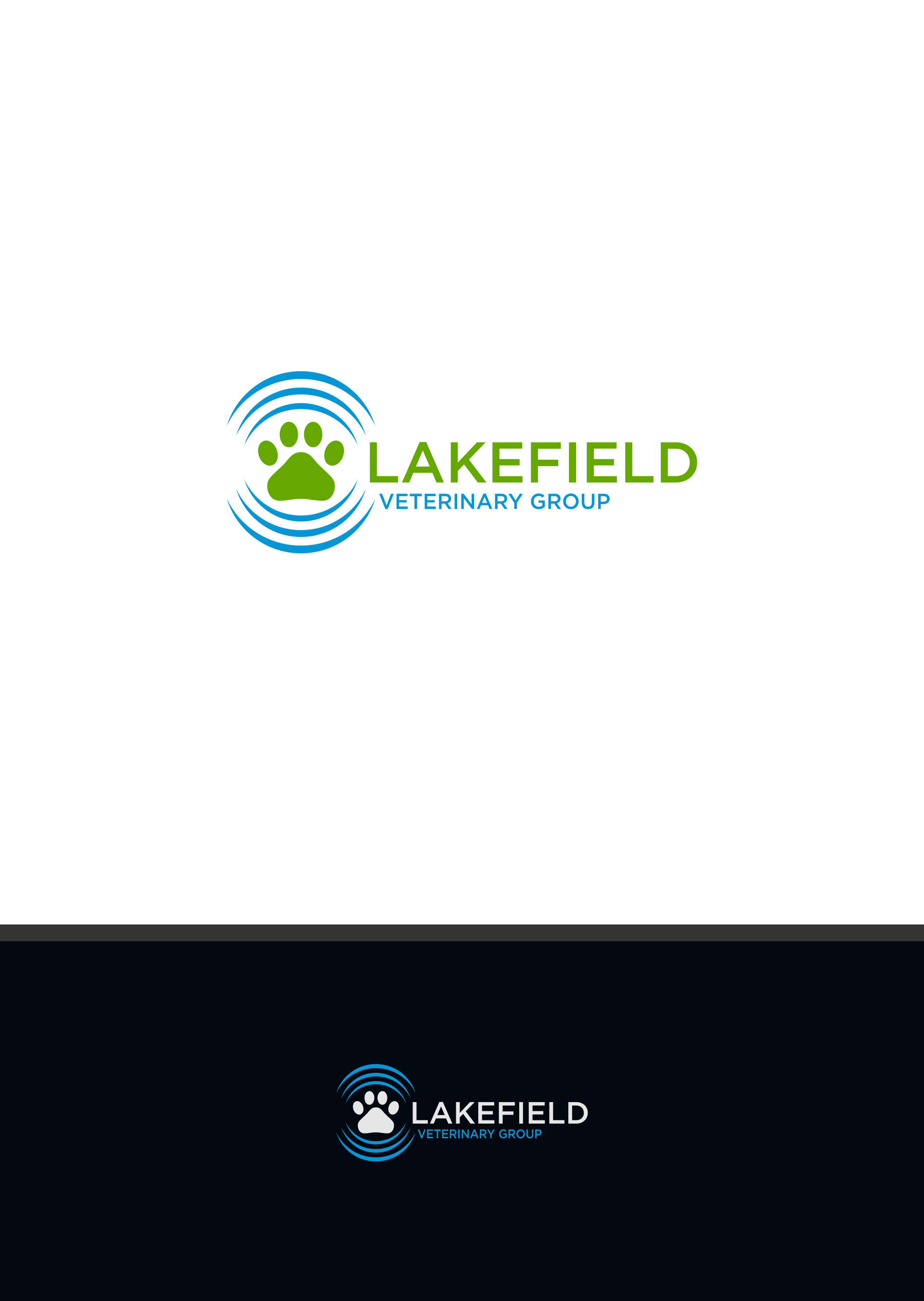 Logo Design by DANANG PRASETYO - Entry No. 19 in the Logo Design Contest Inspiring Logo Design for Lakefield Veterinary Group.