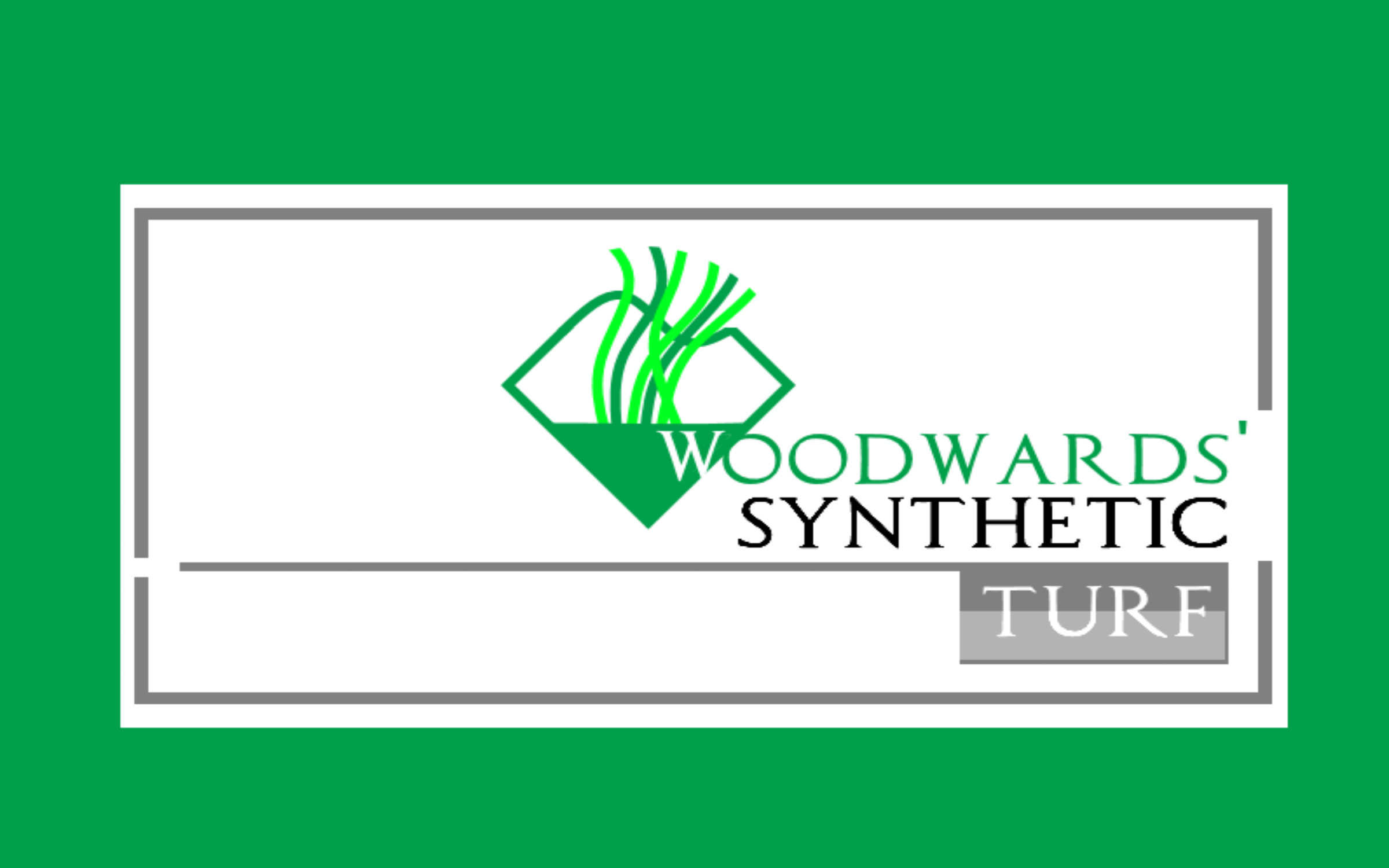 Logo Design by Roberto Bassi - Entry No. 42 in the Logo Design Contest Artistic Logo Design for Woodward's Synthetic Turf.