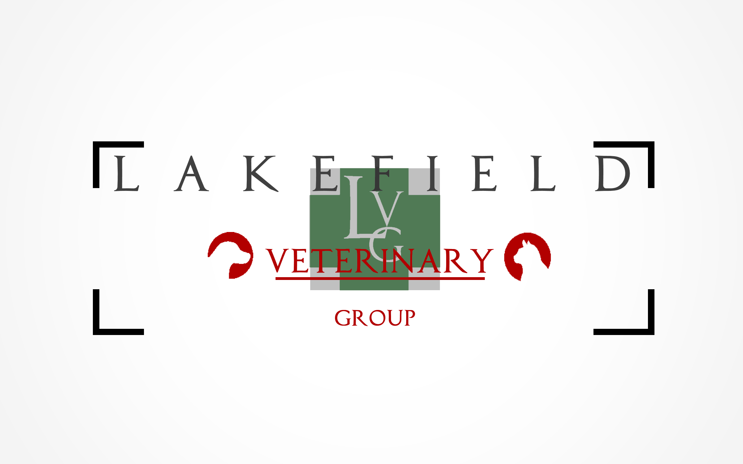 Logo Design by Roberto Bassi - Entry No. 22 in the Logo Design Contest Inspiring Logo Design for Lakefield Veterinary Group.