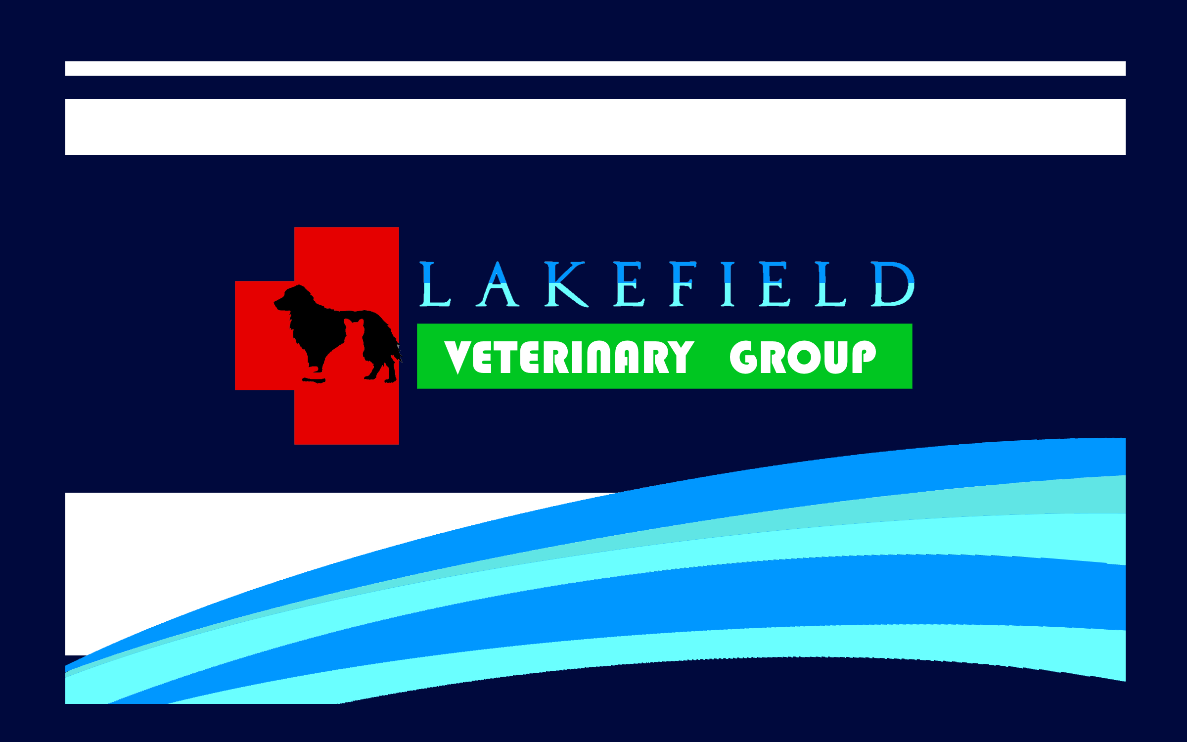 Logo Design by Roberto Bassi - Entry No. 24 in the Logo Design Contest Inspiring Logo Design for Lakefield Veterinary Group.