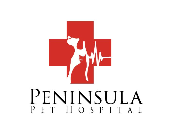 Logo Design by Wilfred Ponseca - Entry No. 61 in the Logo Design Contest Creative Logo Design for Peninsula Pet Hospital.