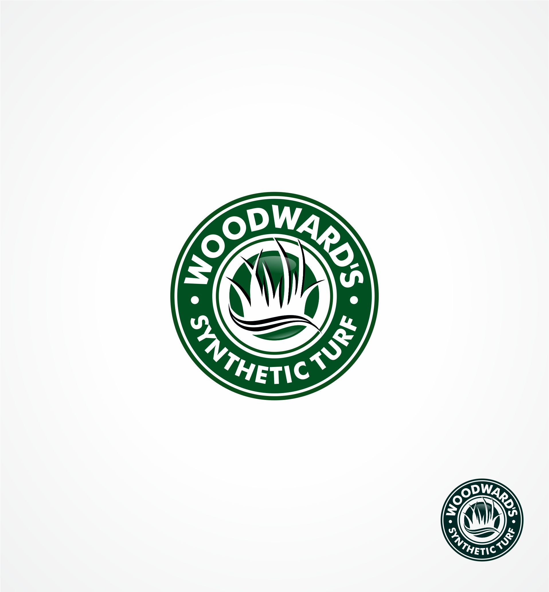 Logo Design by Raymond Garcia - Entry No. 71 in the Logo Design Contest Artistic Logo Design for Woodward's Synthetic Turf.