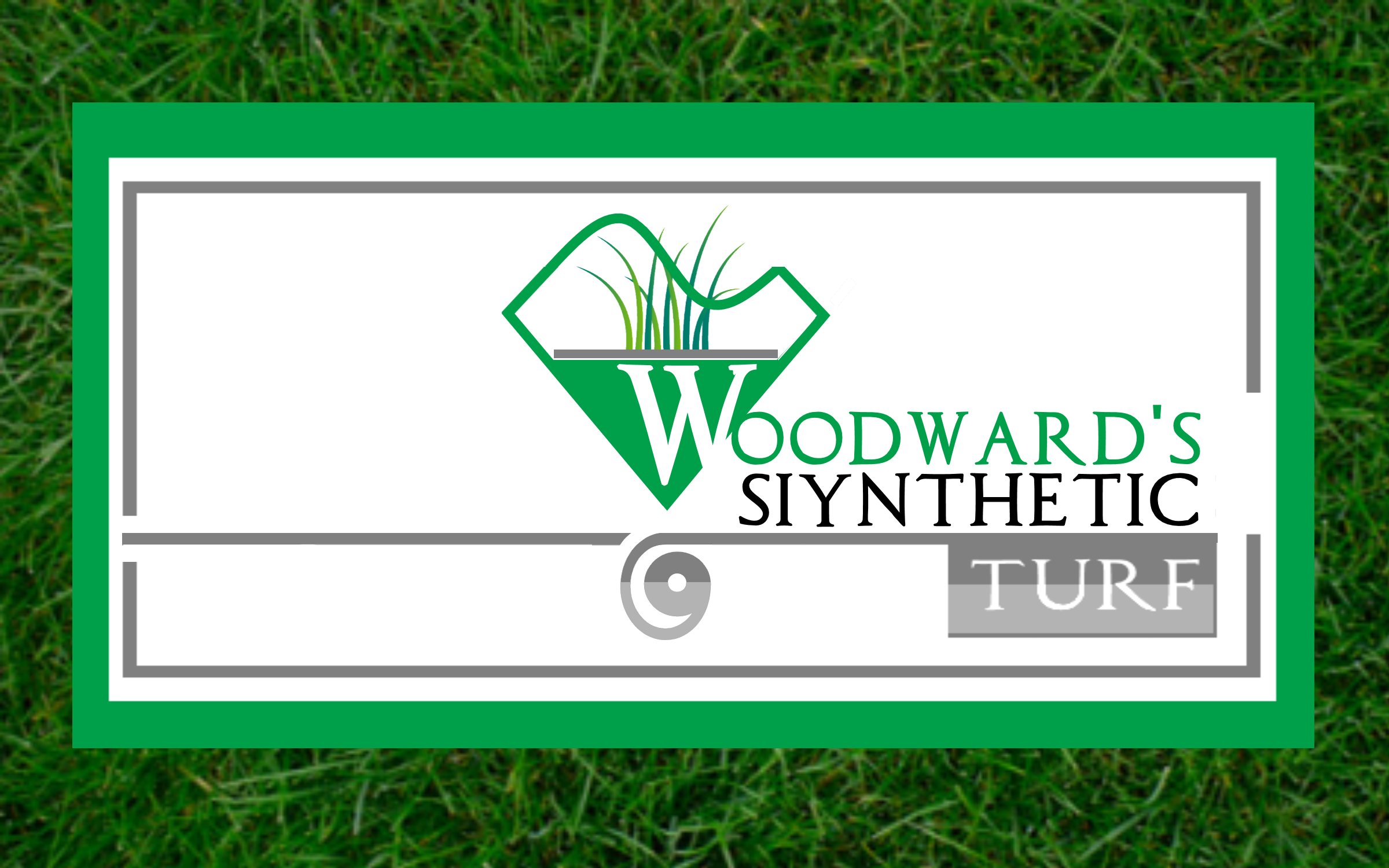 Logo Design by Roberto Bassi - Entry No. 84 in the Logo Design Contest Artistic Logo Design for Woodward's Synthetic Turf.