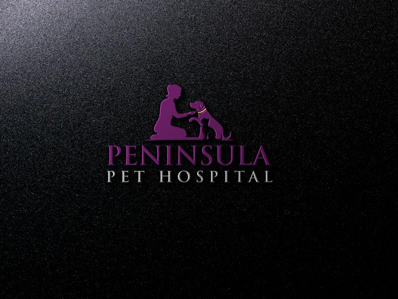 Logo Design by Private User - Entry No. 113 in the Logo Design Contest Creative Logo Design for Peninsula Pet Hospital.
