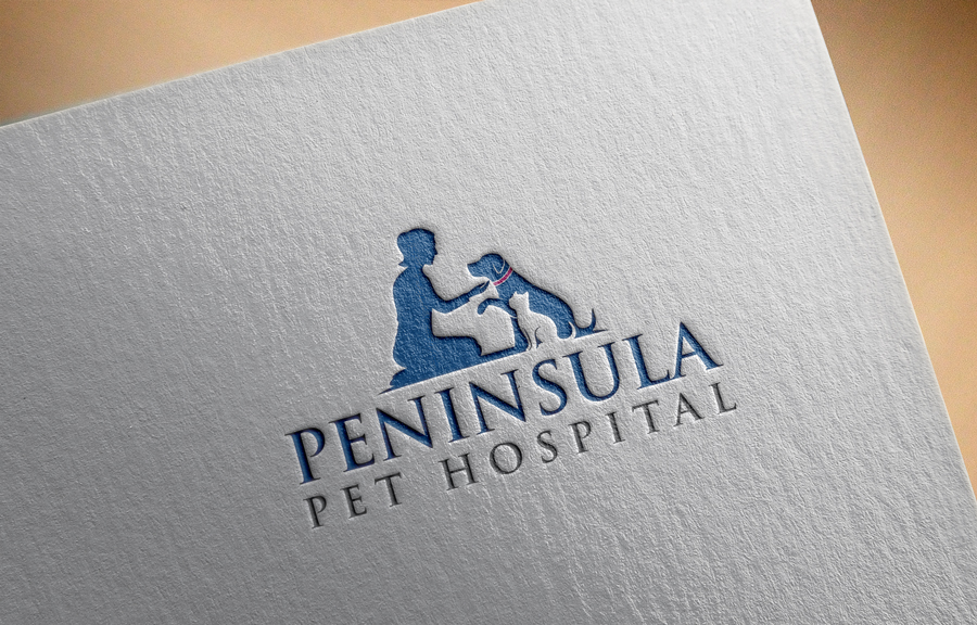 Logo Design by Private User - Entry No. 117 in the Logo Design Contest Creative Logo Design for Peninsula Pet Hospital.