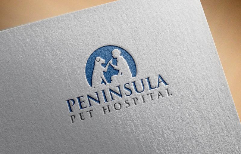 Logo Design by Private User - Entry No. 121 in the Logo Design Contest Creative Logo Design for Peninsula Pet Hospital.