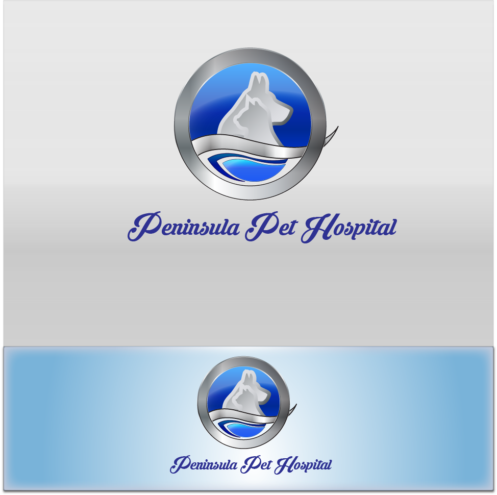 Logo Design by Jastinejay Manliguez - Entry No. 138 in the Logo Design Contest Creative Logo Design for Peninsula Pet Hospital.
