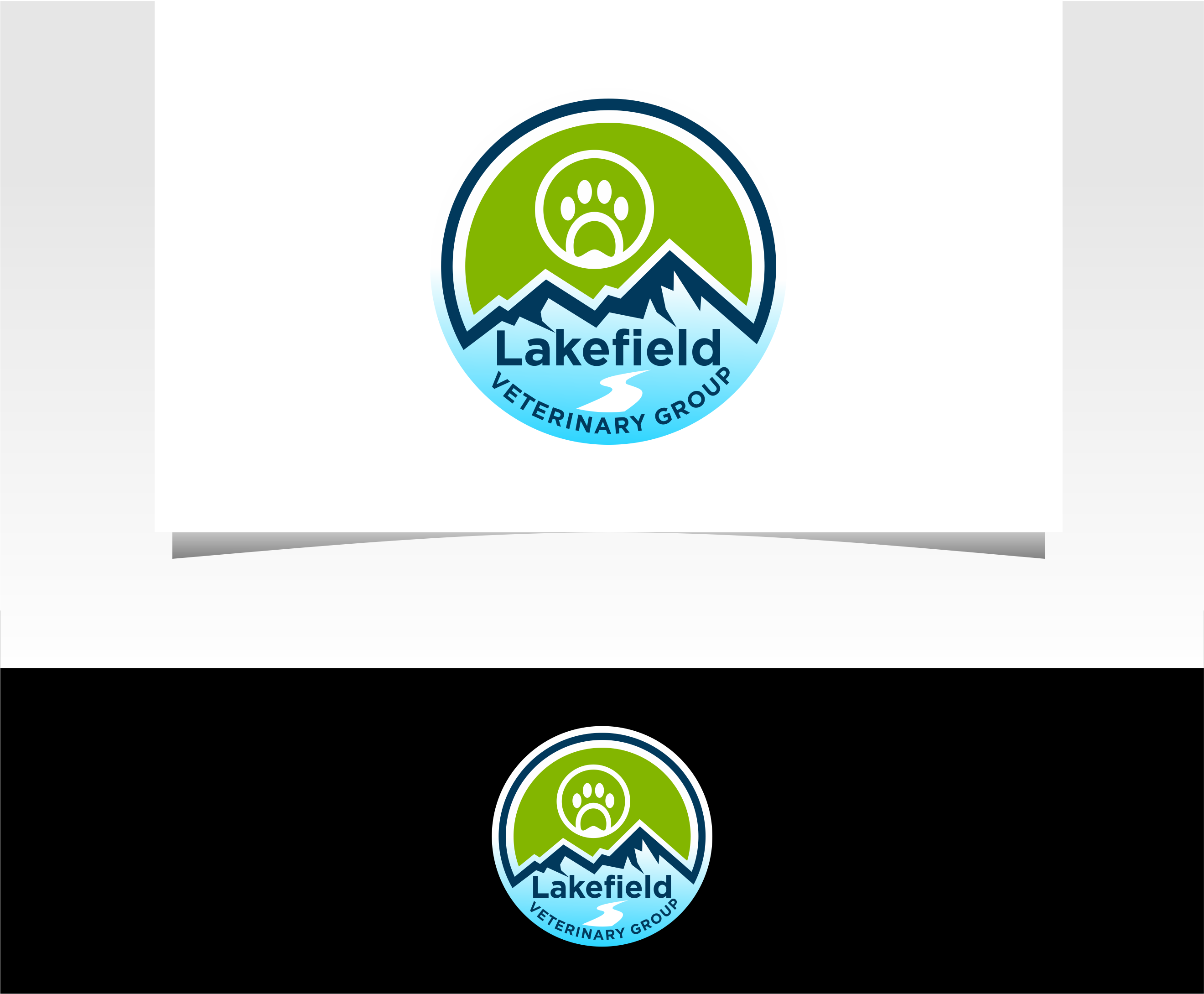 Logo Design by Raymond Garcia - Entry No. 43 in the Logo Design Contest Inspiring Logo Design for Lakefield Veterinary Group.