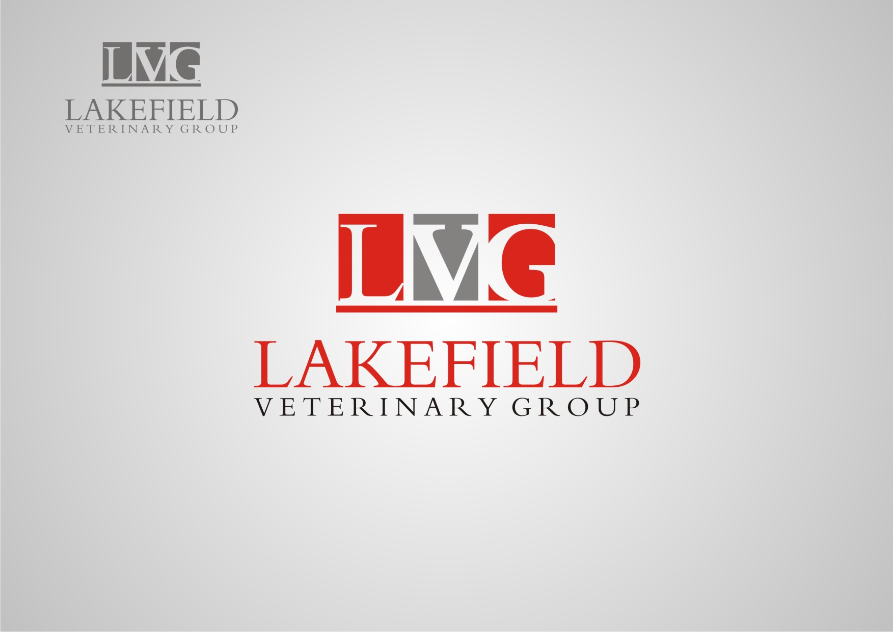 Logo Design by Private User - Entry No. 44 in the Logo Design Contest Inspiring Logo Design for Lakefield Veterinary Group.