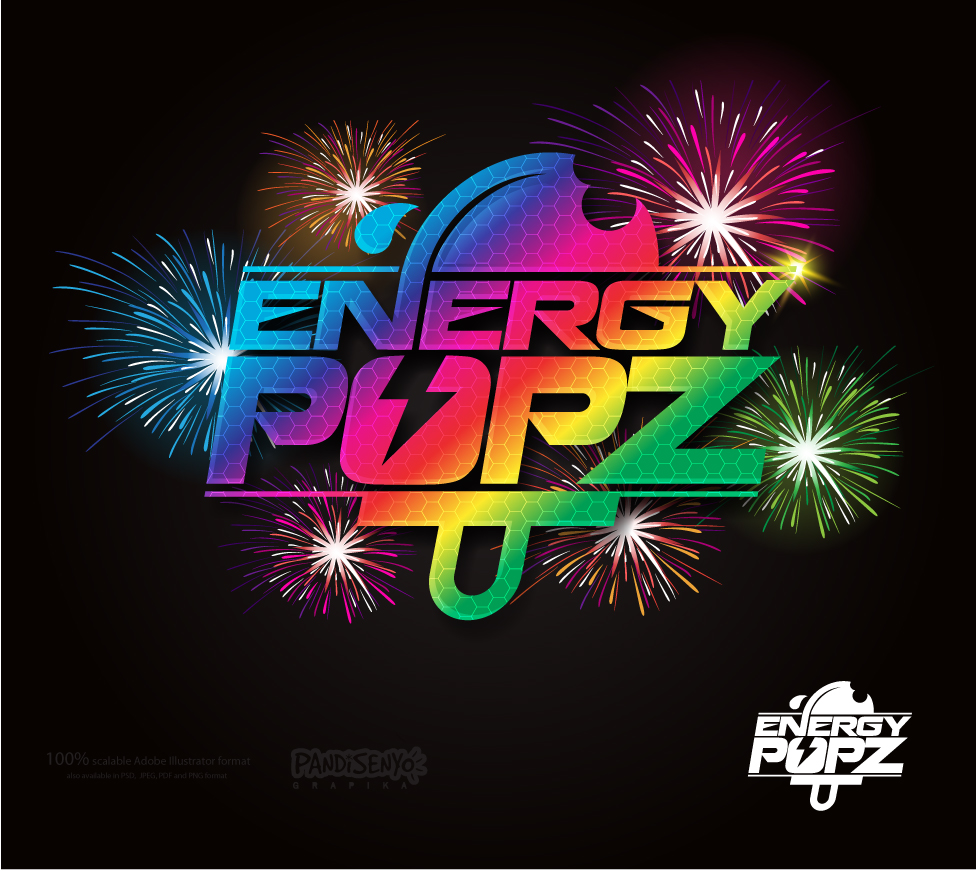 Logo Design by pandisenyo - Entry No. 65 in the Logo Design Contest Energy Popz Logo Design.