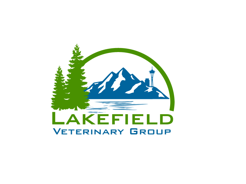 Logo Design by Private User - Entry No. 47 in the Logo Design Contest Inspiring Logo Design for Lakefield Veterinary Group.