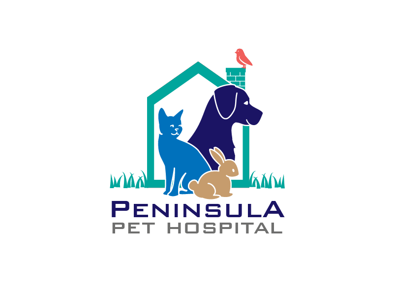Logo Design by Private User - Entry No. 146 in the Logo Design Contest Creative Logo Design for Peninsula Pet Hospital.