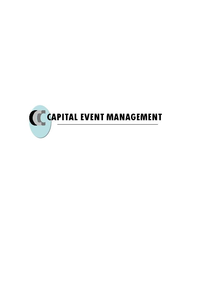 Logo Design by cartoonartist - Entry No. 57 in the Logo Design Contest Capital Event Management.