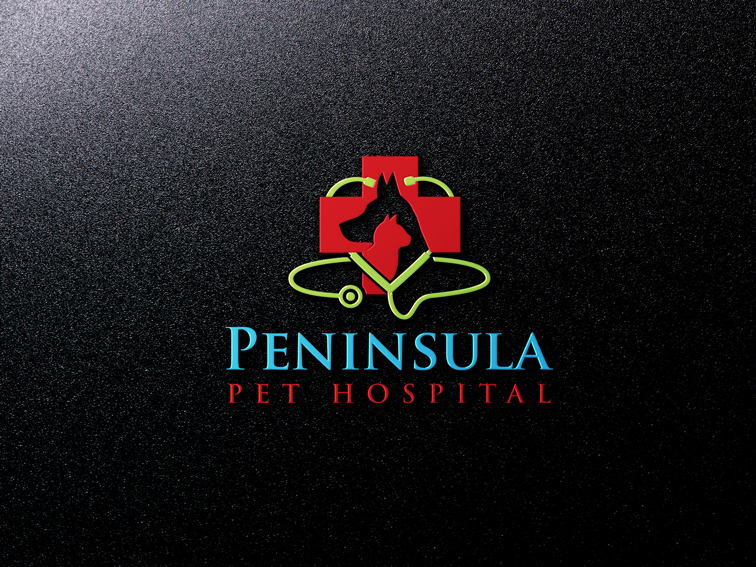 Logo Design by Private User - Entry No. 147 in the Logo Design Contest Creative Logo Design for Peninsula Pet Hospital.