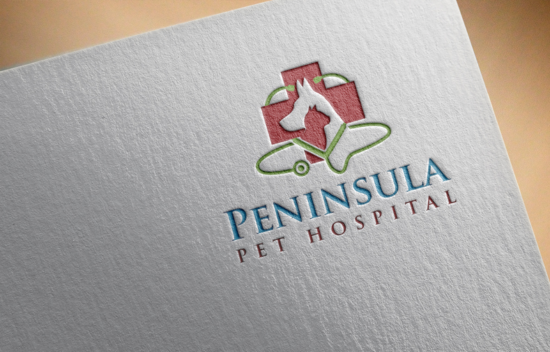 Logo Design by Private User - Entry No. 148 in the Logo Design Contest Creative Logo Design for Peninsula Pet Hospital.