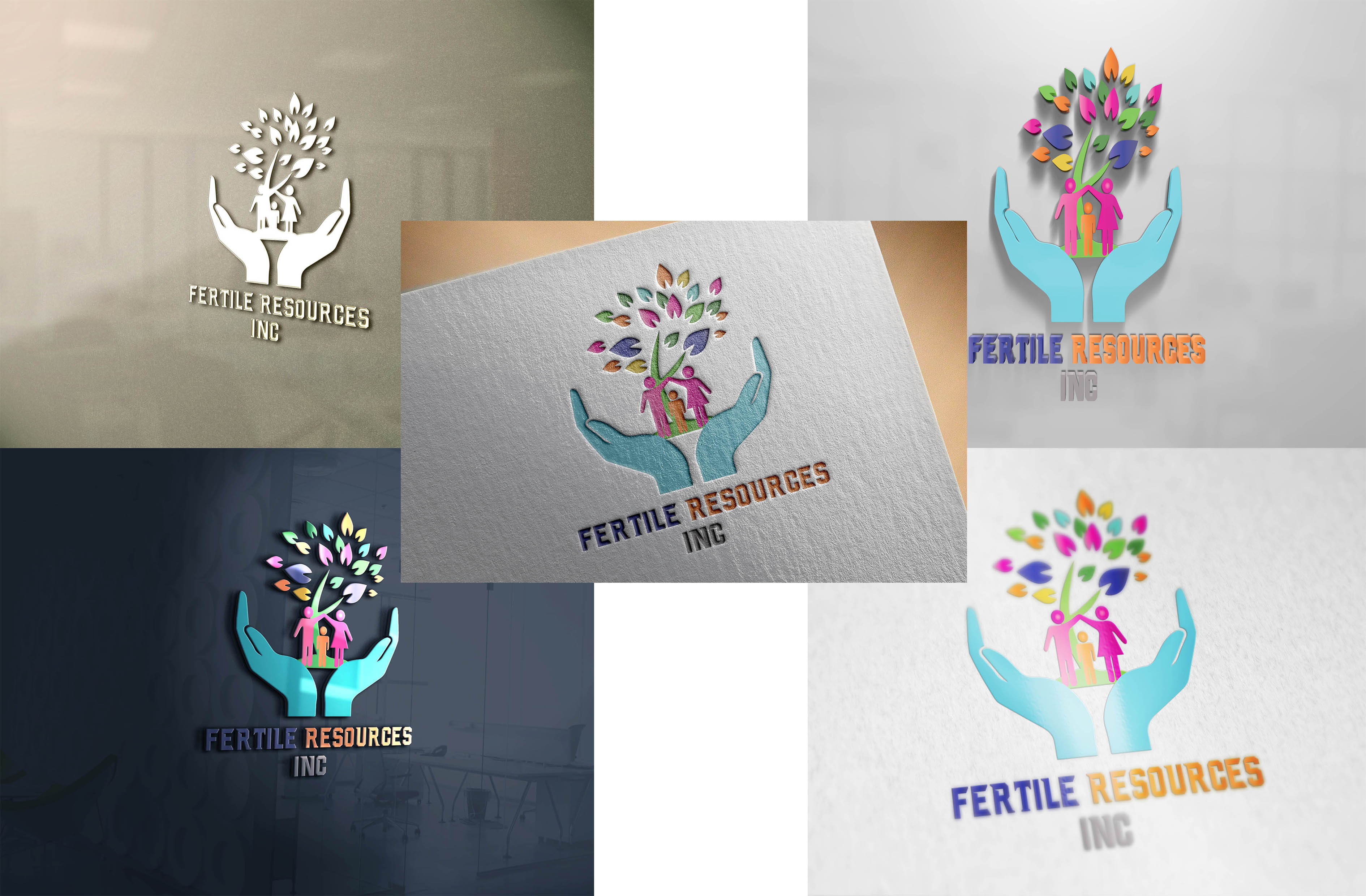 Logo Design by Umair ahmed Iqbal - Entry No. 93 in the Logo Design Contest Fertile Resources, Inc. Logo Design.