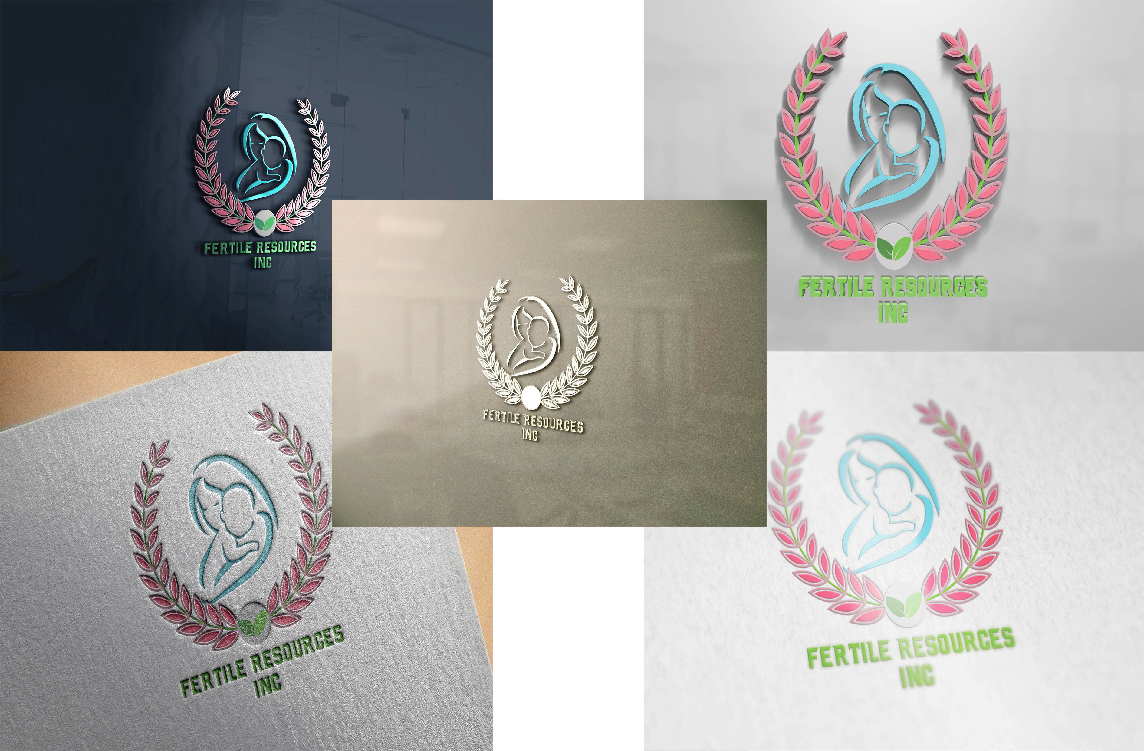Logo Design by Umair ahmed Iqbal - Entry No. 95 in the Logo Design Contest Fertile Resources, Inc. Logo Design.