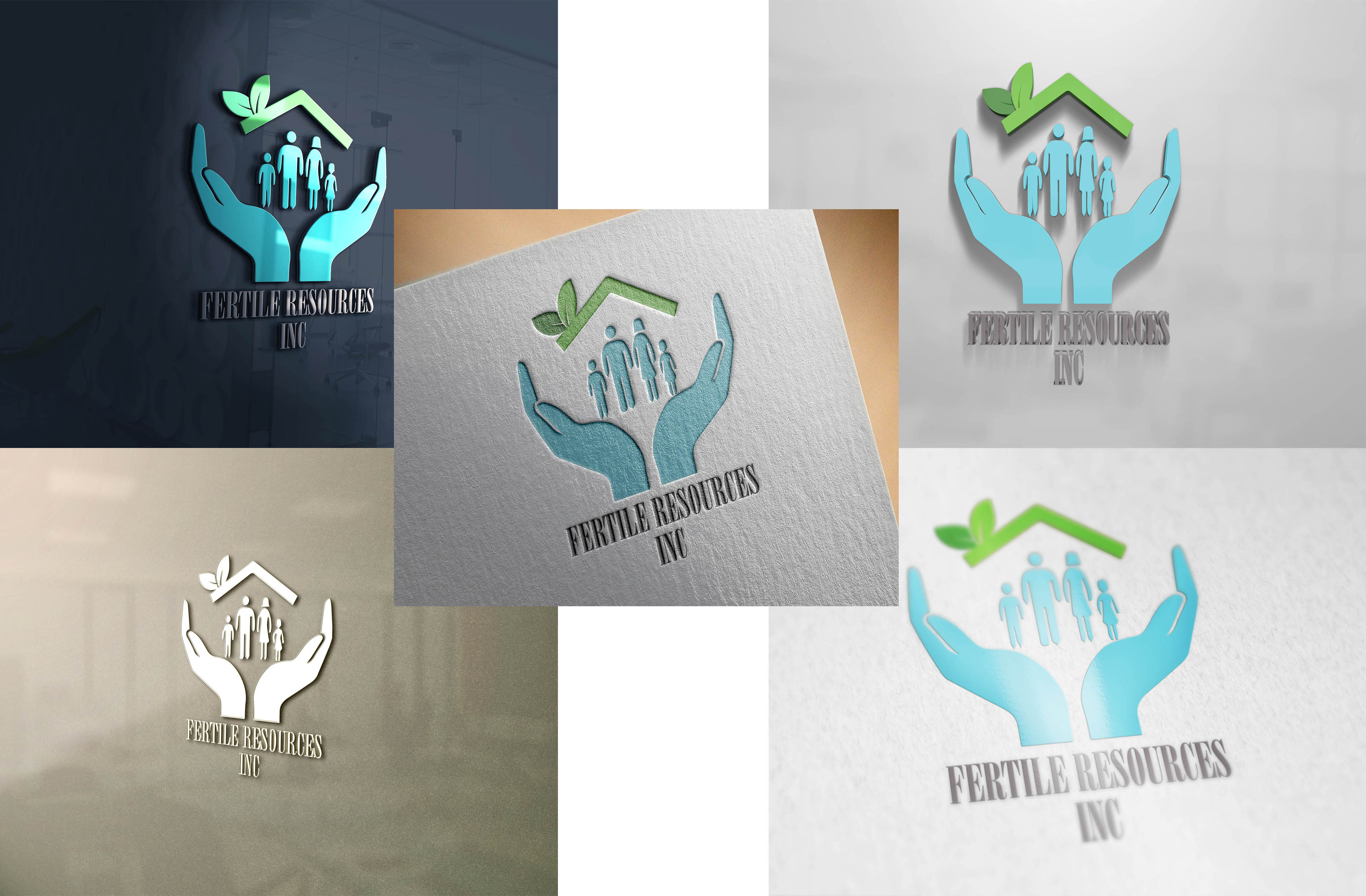 Logo Design by Umair ahmed Iqbal - Entry No. 96 in the Logo Design Contest Fertile Resources, Inc. Logo Design.