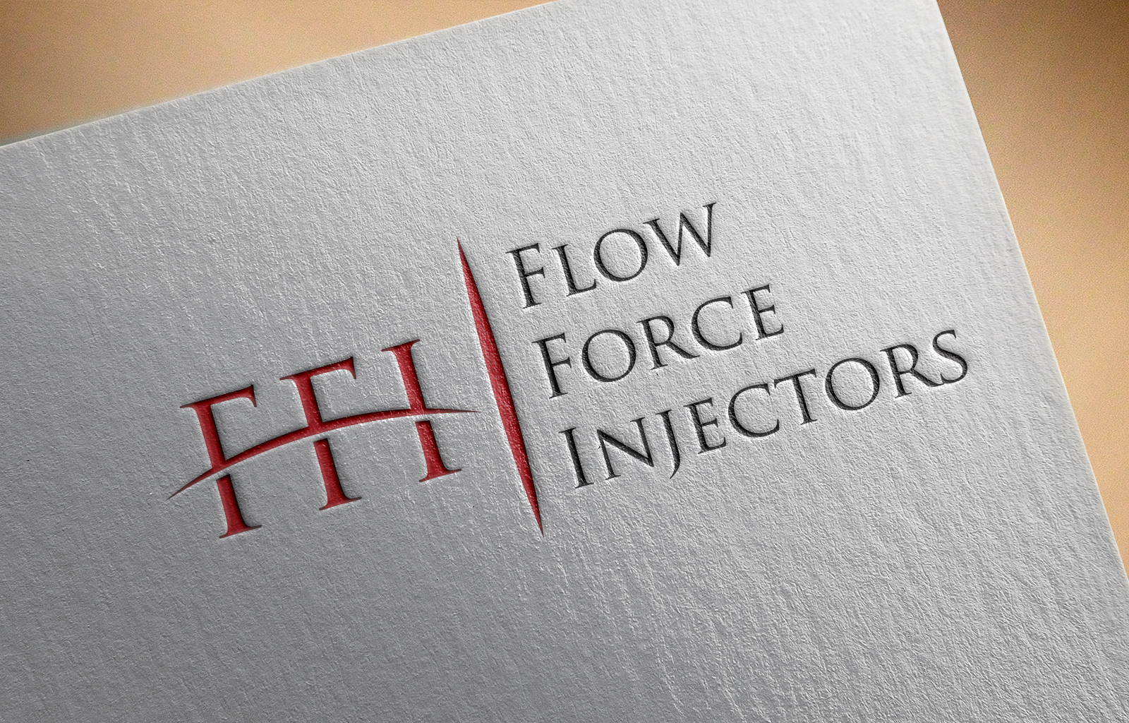 Logo Design by Shahnawaz Ahmed - Entry No. 2 in the Logo Design Contest Fun Logo Design for Flow Force Injectors.