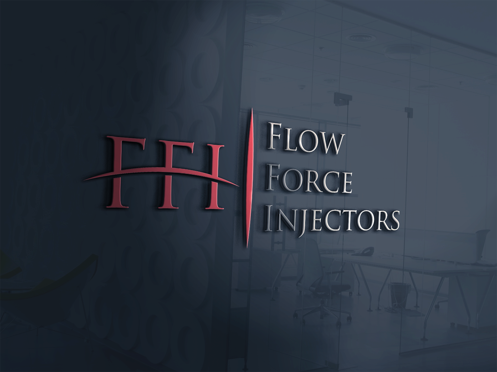 Logo Design by Shahnawaz Ahmed - Entry No. 3 in the Logo Design Contest Fun Logo Design for Flow Force Injectors.