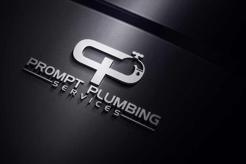Logo Design by Private User - Entry No. 9 in the Logo Design Contest Artistic Logo Design for Prompt Plumbing Services.