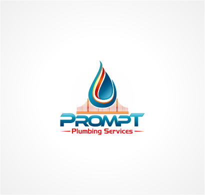 Logo Design by Raymond Garcia - Entry No. 13 in the Logo Design Contest Artistic Logo Design for Prompt Plumbing Services.