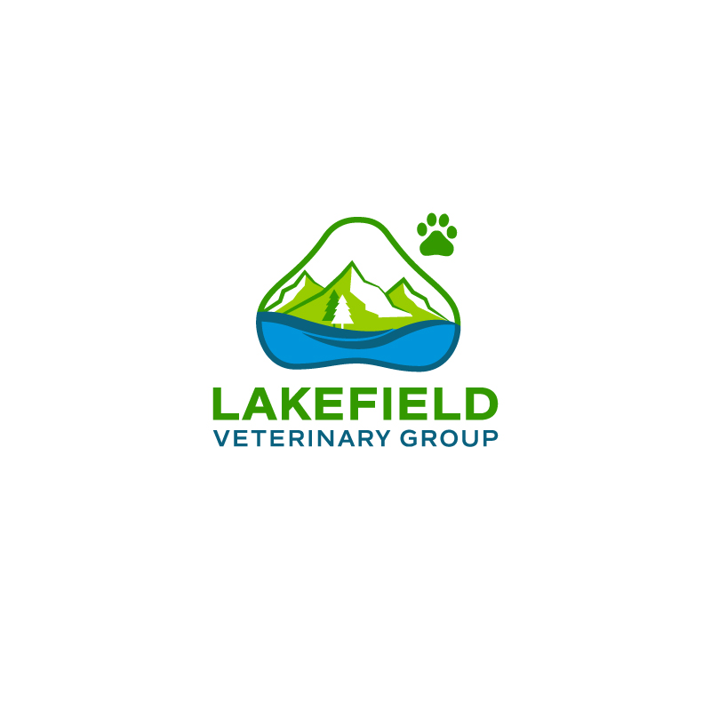 Logo Design by Tauhid Shaikh - Entry No. 60 in the Logo Design Contest Inspiring Logo Design for Lakefield Veterinary Group.