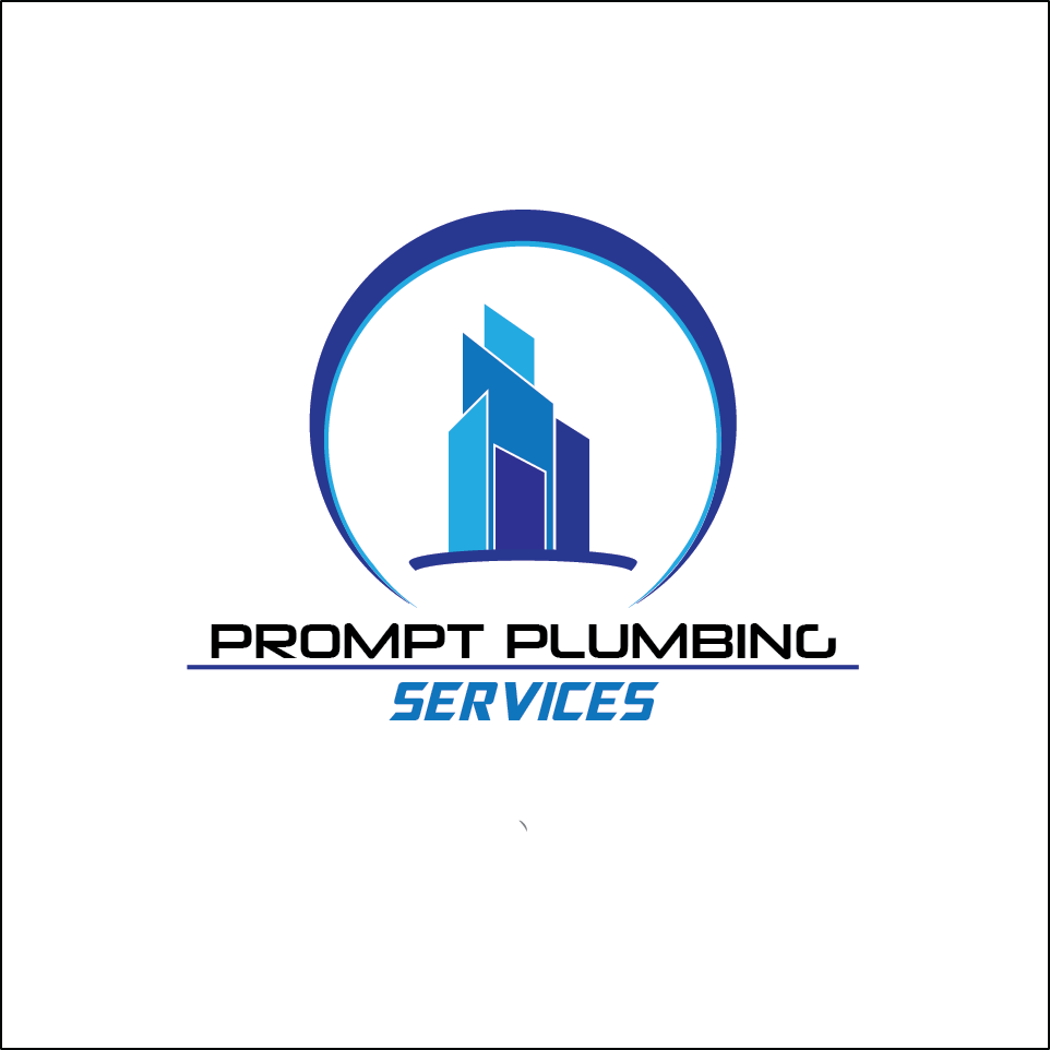 Logo Design by Jastinejay Manliguez - Entry No. 15 in the Logo Design Contest Artistic Logo Design for Prompt Plumbing Services.