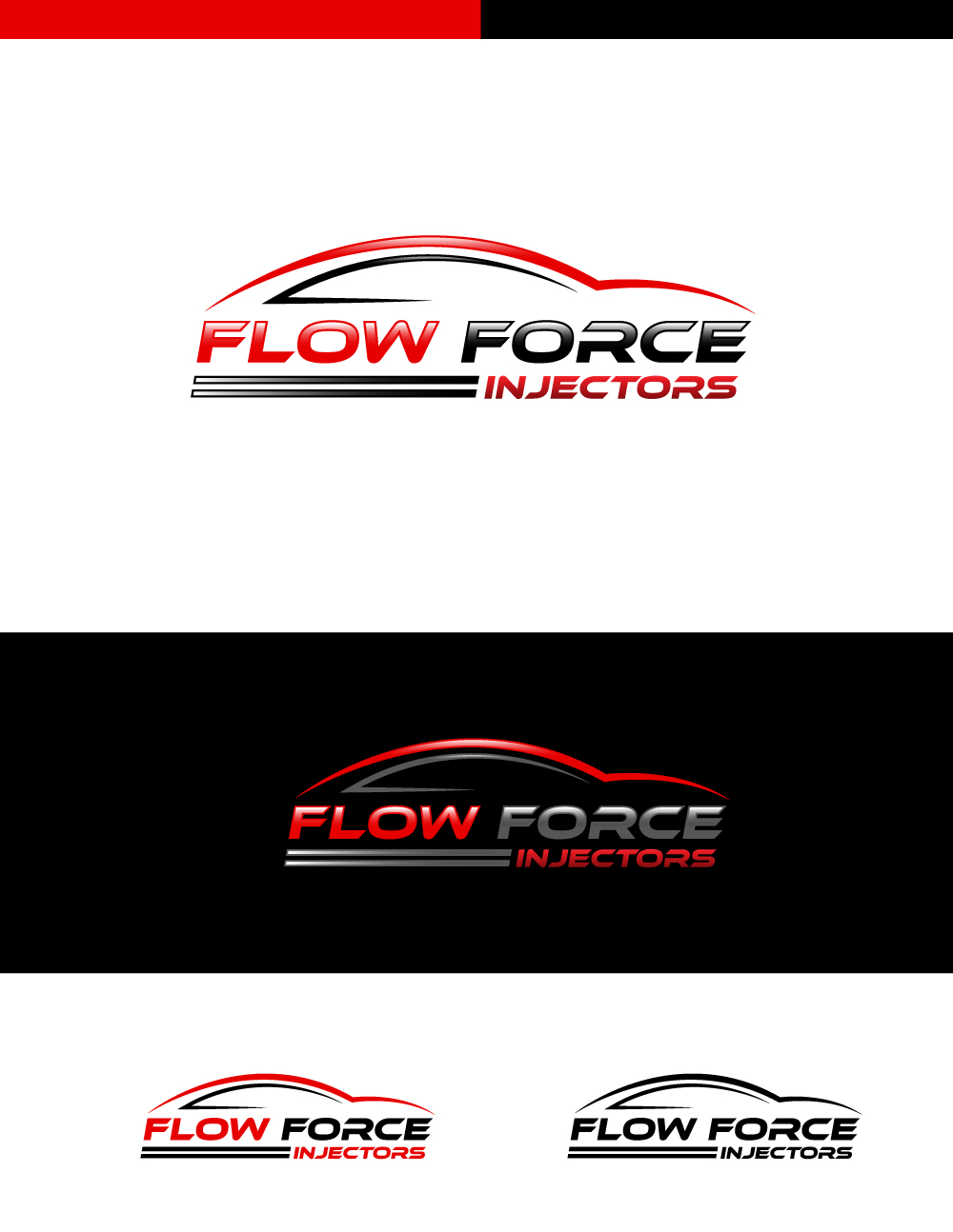 Logo Design by Tauhid Shaikh - Entry No. 9 in the Logo Design Contest Fun Logo Design for Flow Force Injectors.