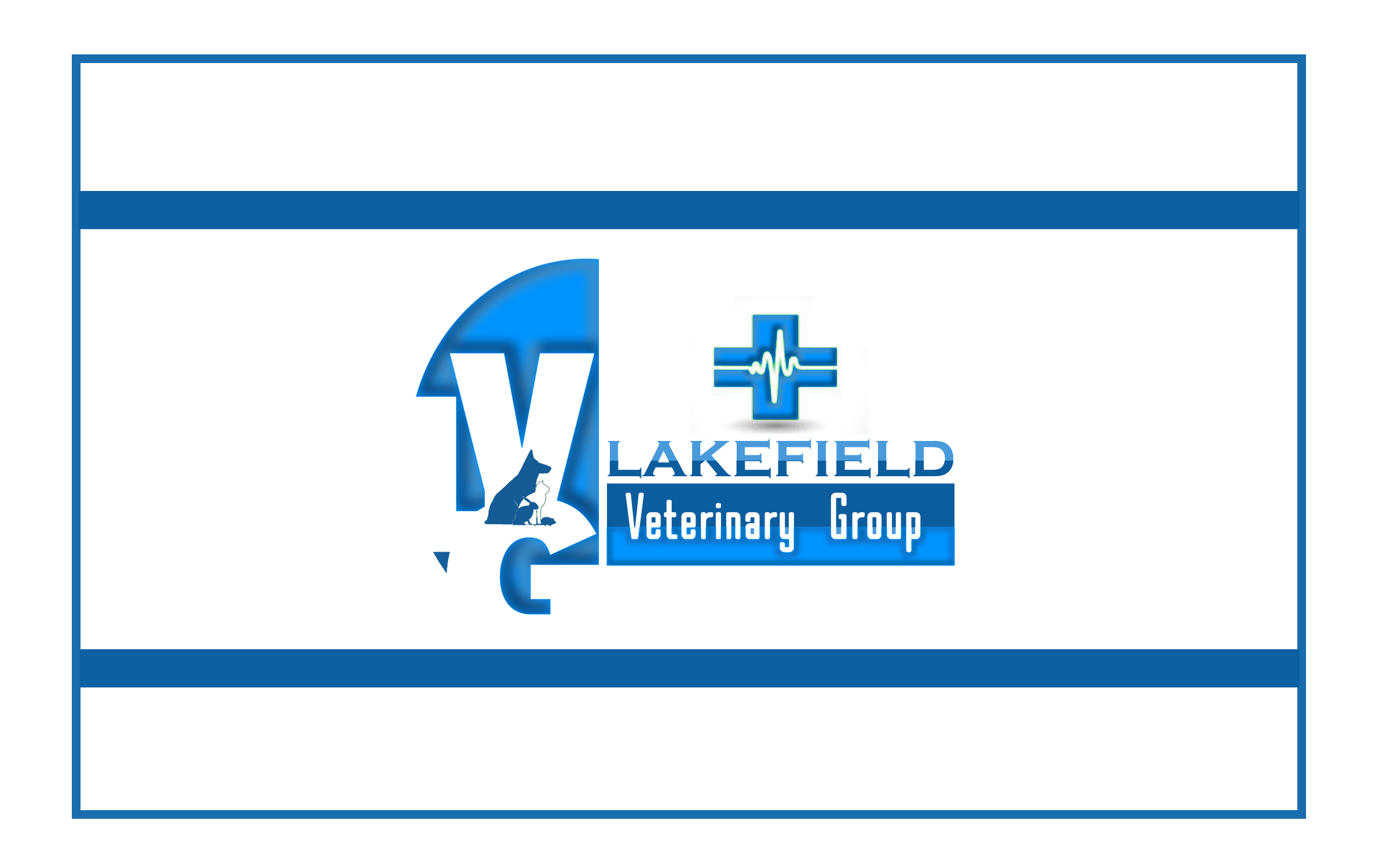 Logo Design by Roberto Bassi - Entry No. 63 in the Logo Design Contest Inspiring Logo Design for Lakefield Veterinary Group.