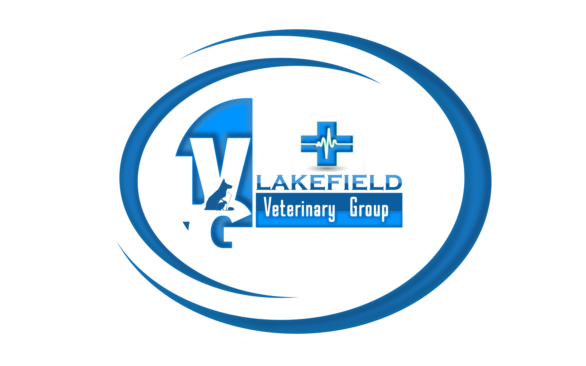 Logo Design by Roberto Bassi - Entry No. 64 in the Logo Design Contest Inspiring Logo Design for Lakefield Veterinary Group.