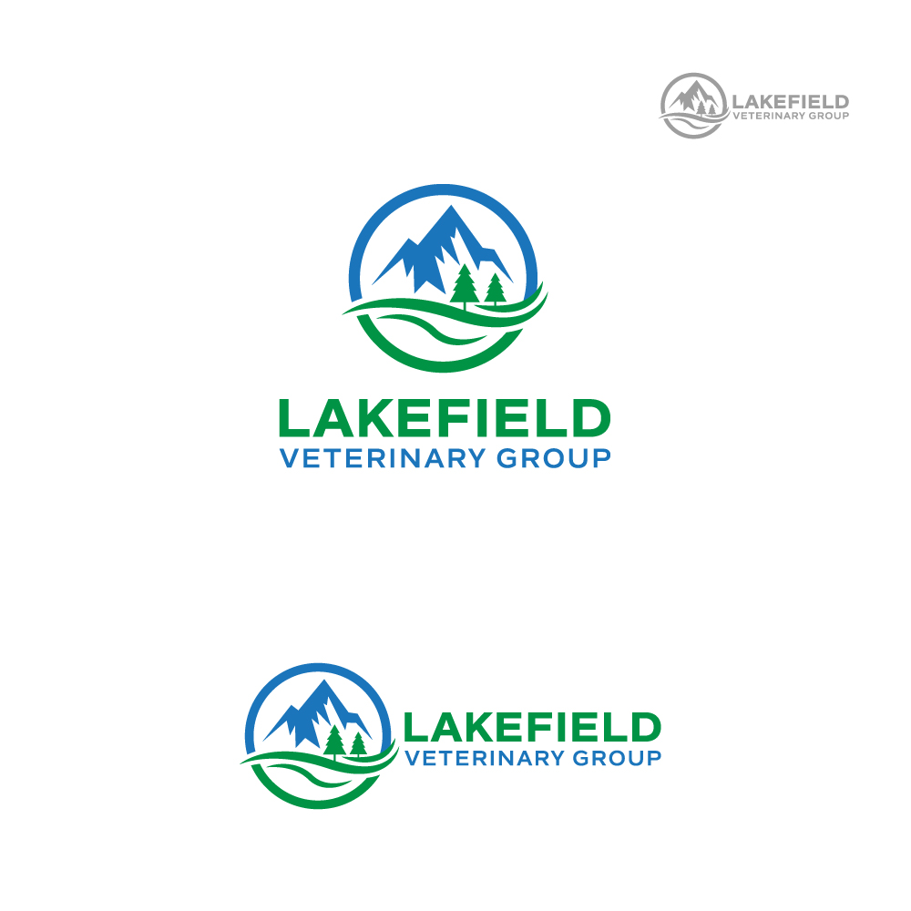 Logo Design by Tauhid Shaikh - Entry No. 68 in the Logo Design Contest Inspiring Logo Design for Lakefield Veterinary Group.