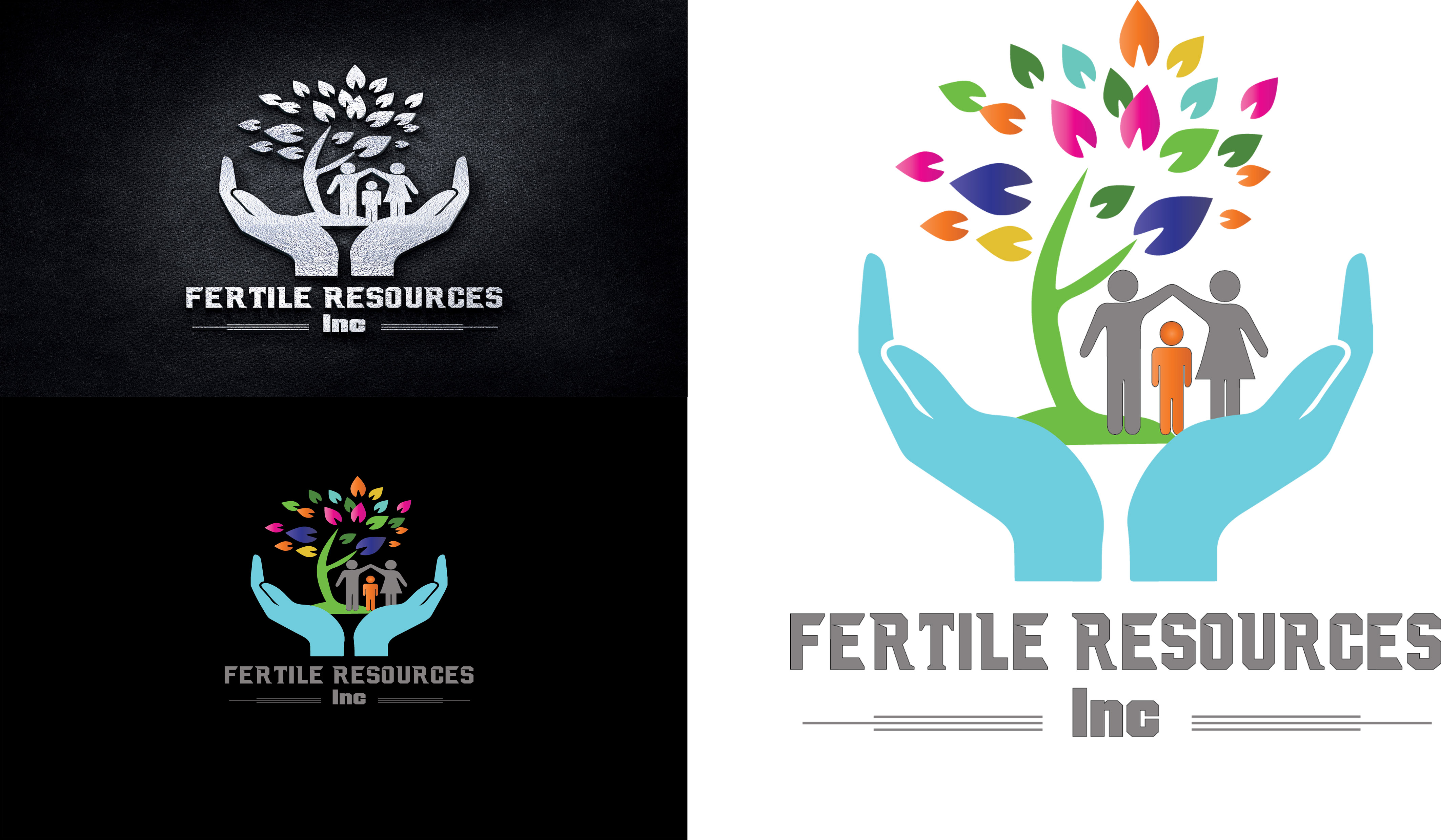 Logo Design by Umair ahmed Iqbal - Entry No. 122 in the Logo Design Contest Fertile Resources, Inc. Logo Design.