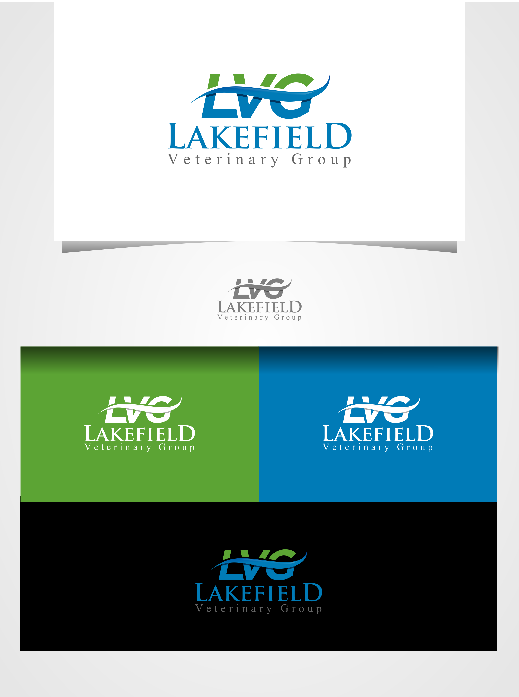 Logo Design by Raymond Garcia - Entry No. 70 in the Logo Design Contest Inspiring Logo Design for Lakefield Veterinary Group.