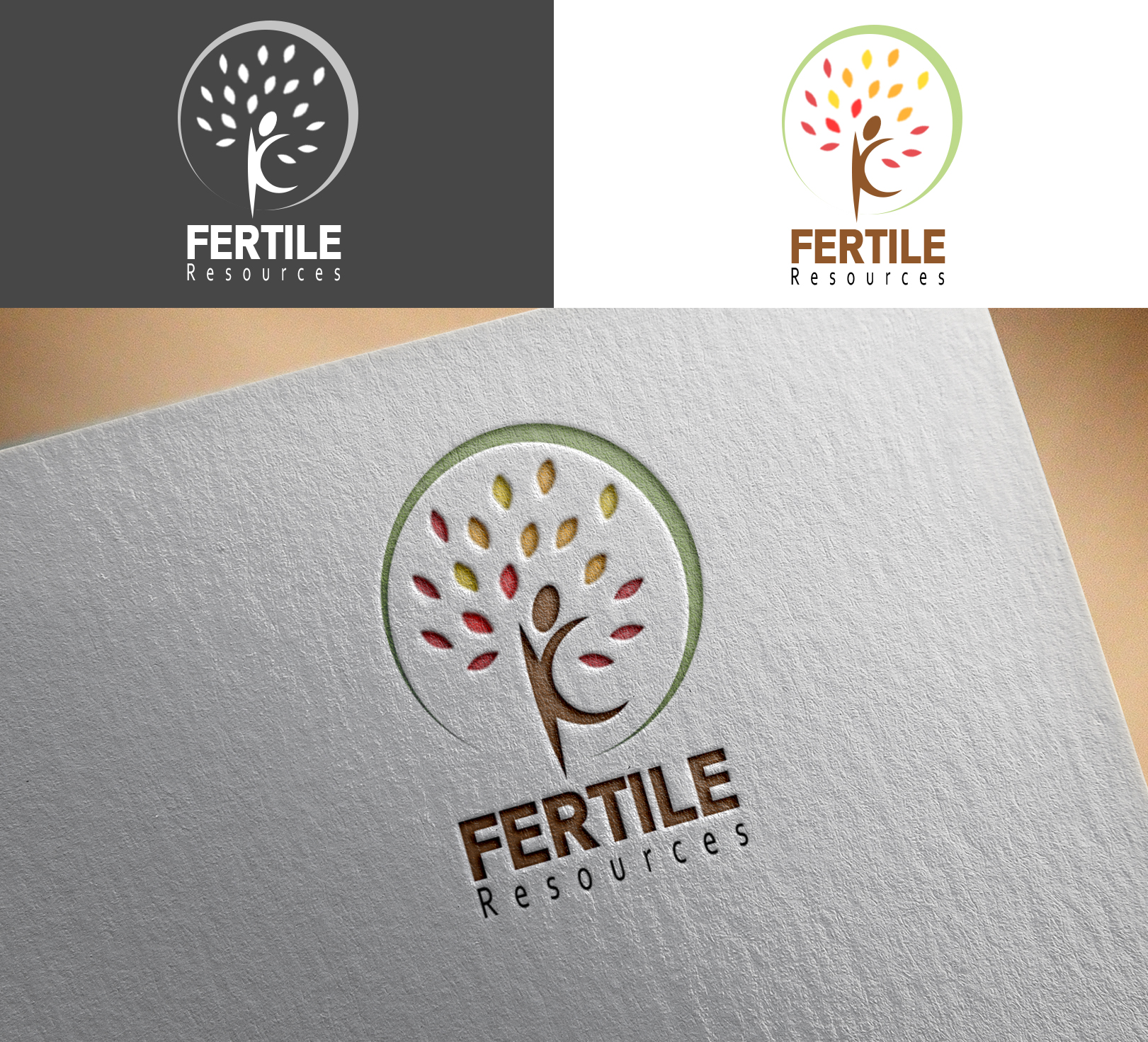 Logo Design by Sohaib Ali Khan - Entry No. 123 in the Logo Design Contest Fertile Resources, Inc. Logo Design.